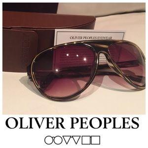 Oliver Peoples Tortoise Havana Unisex Sunglasses